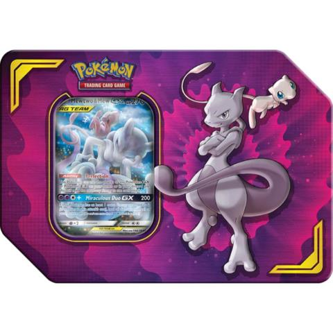 Power Partnership Tin - Mewtwo & Mew-GX