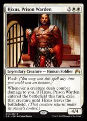 Hixus, Prison Warden - Foil