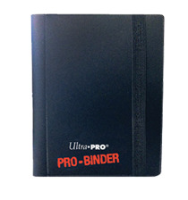 Ultra Pro 2-Pocket Pro-Binder - Black