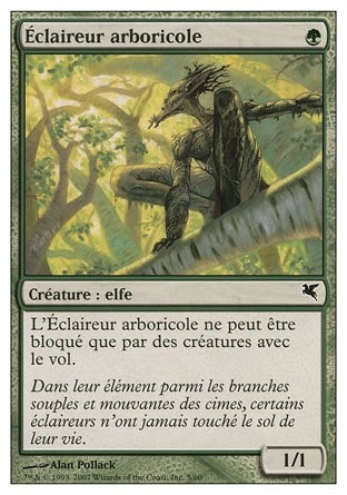 Éclaireur arboricole (Treetop Scout) #5/60
