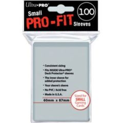 Ultra Pro Small Pro-Fit Sleeves (100ct)