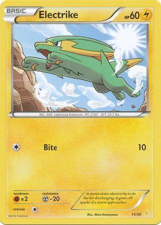 Electrike - 11/30 - XY Trainer Kit: Pikachu Libre & Suicune (Pikachu Libre)