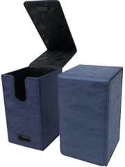 Ultra Pro Alcove Tower Deck Box - Suede Sapphire