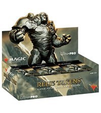 Ultra Pro - Magic The Gathering: Lineage Collection Relic Tokens Box (Contains 24 Packs)