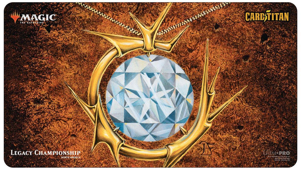 Eternal Weekend 2019 Legacy Championship Ltd. Ed. Playmat - Mox Diamond