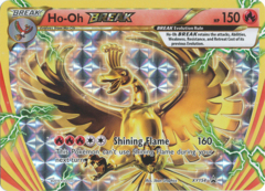 Ho-Oh Break - XY154 - Break Rare