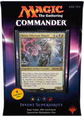 Commander 2016 Deck - Invent Superiority (White/Blue/Black/Red)