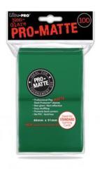 Ultra Pro PRO-Matte 100ct Standard Deck Protectors - Green