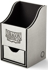 Dragon Shield Light Grey/Black Nest+ (with tray) 100+ Deck Box
