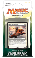 Battle for Zendikar Intro Pack - Rallying Cry (W/R)