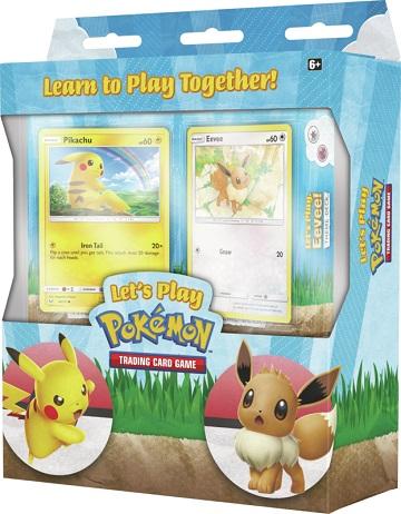 Pokemon Lets Play TCG Box