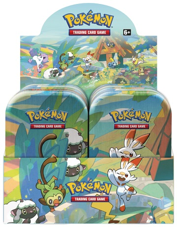 Pokemon Mini Tins - Galar Pals -  Set of 5