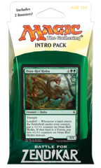 Battle for Zendikar Intro Pack - Zendikar's Rage (G/R)