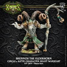 Circle of Orboros: Brennos The Elderhorn - Heavy Warbeast