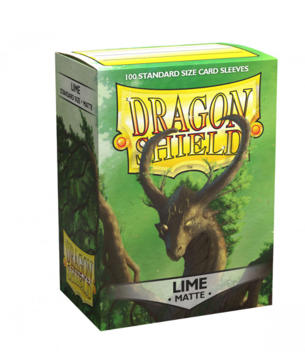 Dragon Shield - Standard - 100ct - Matte - Lime