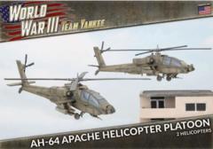TUBX21 AH-64 Apache Helicopter Platoon (Plastic)