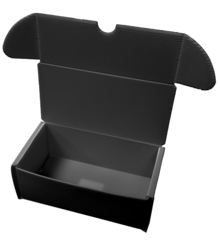 Comic Pro Line - Plastic Storage Box - 400 Count - Black