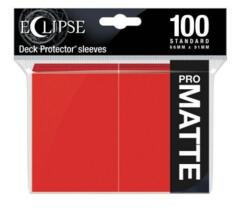 100ct Matte Eclipse Red