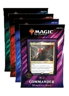 Commander 2019 - Set of 4