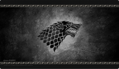 P112 Game of Thrones : House Stark Playmat