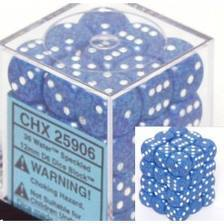 Chessex 25906 Speckled Water 12mm 36 D6 Dice Block