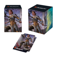 Theros Beyond Death Elspeth, Sun's Nemesis PRO 100+ Deck Box for Magic: The Gathering
