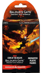 D&D Fantasy Miniatures: Icons of the Realms: Baldur's Gate: Descent into Avernus - Standard Booster Pack