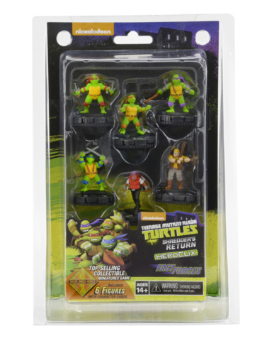 Teenage Mutant Ninja Turtles: Shredders Return - Fast Forces