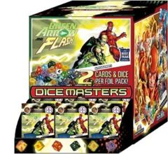 DC Dice Masters -  Green Arrow and The Flash Gravity Feed Display