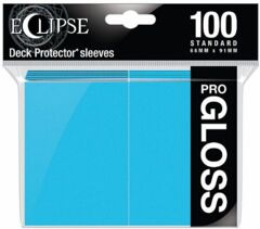 Ultra Pro - Pro Gloss Eclipse: Deck Protector 100 Count Pack - Light Blue