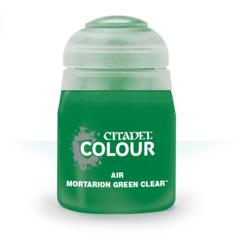 Air: Mortarion Green Clear