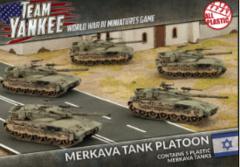 Merkava Tank Platoon (Plastic) (TIBX01)