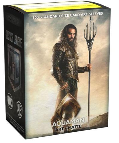 Dragon Shield - Standard - 100ct - Art Matte - Justice League Aquaman