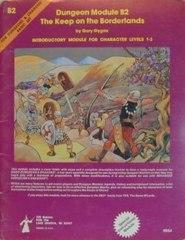 D&D Basic Set Dungeon Module B2 - Heavy Play