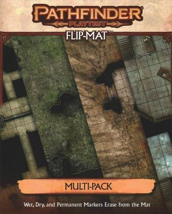 Pathfinder 2E Playtest Flip-Mat Multi Pack