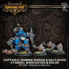 Captain E. Dominic Darius & Halfjacks