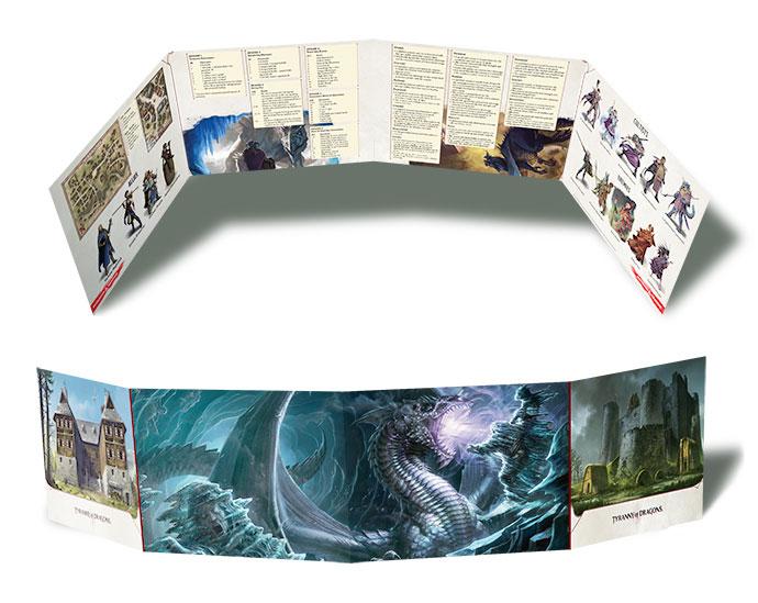 DM Screen: The Rise of Tiamat - RPGs » D&D » D&D 5th Edition