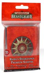 Warhammer Underworlds: Beastgrave – Rippa's Snarlfangs Premium Sleeves