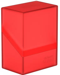 Ultimate Guard - Boulder Deck Box - 60ct - Ruby