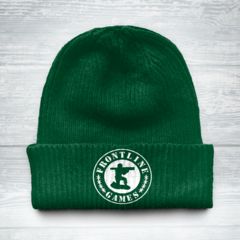Frontline Knit Cap - Green