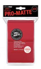Ultra PRO - Standard - 100ct - PRO Matte - Red