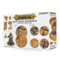 Age of Sigmar Shattered Dominion - 40mm & 65mm Round Bases