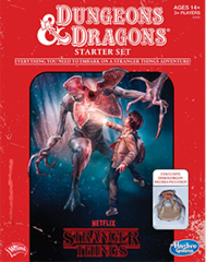 D&D – Stranger Things – Starter Set – Fantasy Roleplaying Tabletop Game
