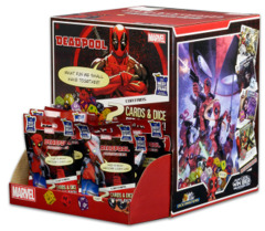 Marvel Dice Masters - Deadpool Gravity Feed Display