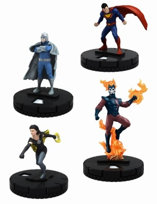 DC HeroClix: Justice League Trinity War Crime Syndicate Fast Forces Pack