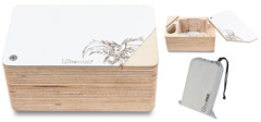 Ultra Pro - The Ark - Wood Deck Box With Counter