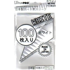 Ultra PRO - Standard - 100ct - Japanese Sleeves: White