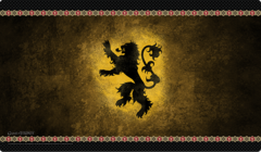 P113 Game of Thrones : House Lannister Playmat
