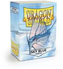Dragon Shield - Standard - 100ct - Matte - Sky Blue