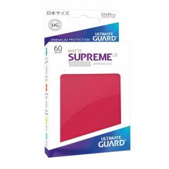 Ultimate Guard - Standard - 80ct - Supreme UX Sleeves - Red